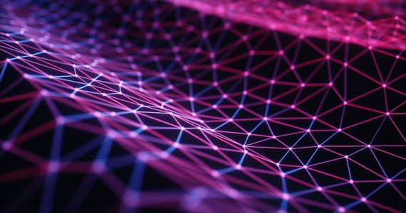 Connections and Dots Representing a Sea of Information in Cloud Computing