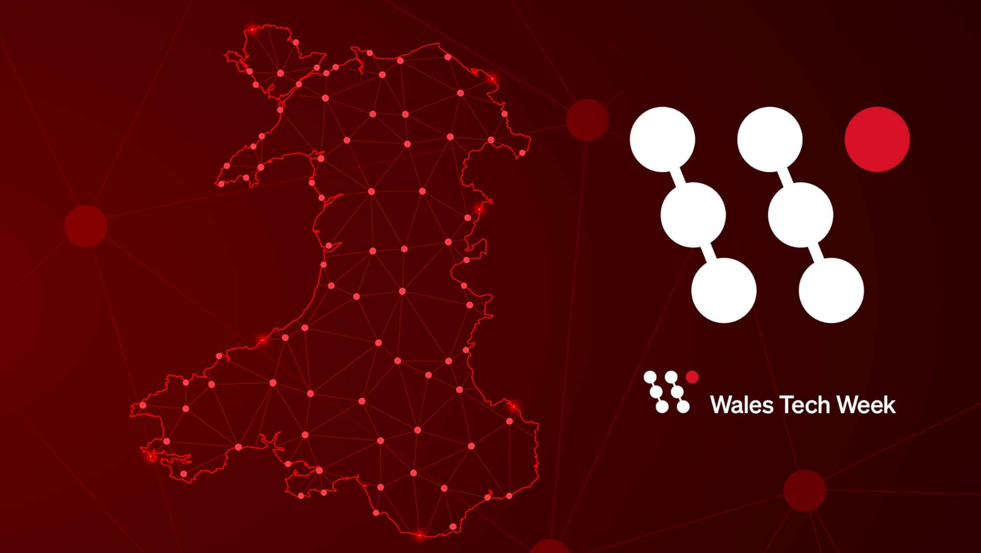 Wales Tech Week Logo
